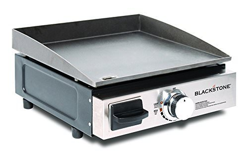 Blackstone Table Top Grill – 17 Inch Portable Gas Griddle – Propane Fueled – For Outdoor Cooking While Camping, Tailgating or Picnicking