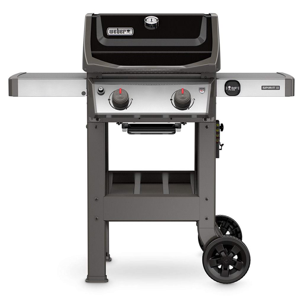 Weber 44010001 Spirit II E-210 Black LP Outdoor Gas Grill