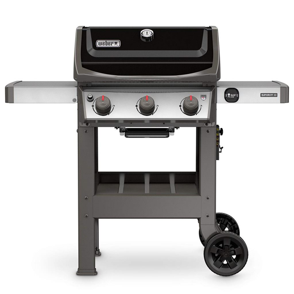 Weber 45010001 Black Spirit II E-310 LP Gas Grill
