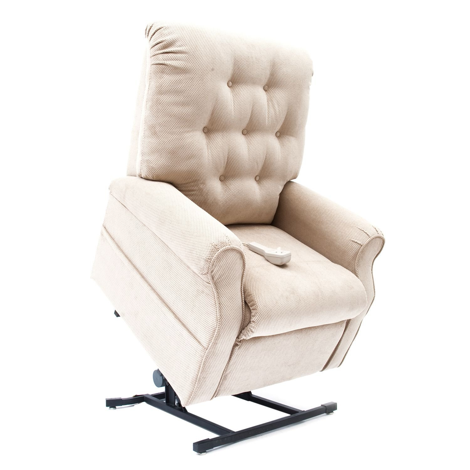 3 Position Lift Chair with Chaise Pad Color: Fawn