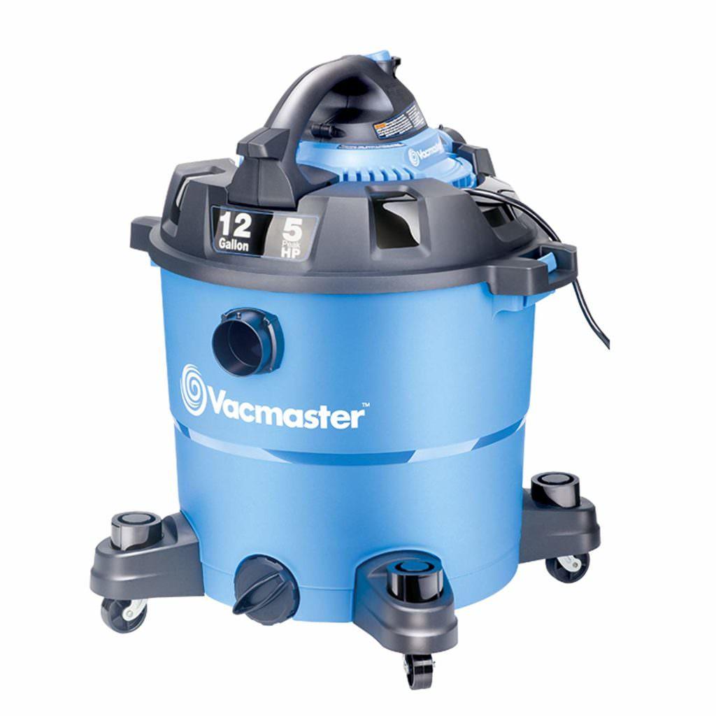 Vacmaster, VBV1210, 12 Gallon 5 Peak HP Wet/Dry Shop Vacuum with Detachable Blower