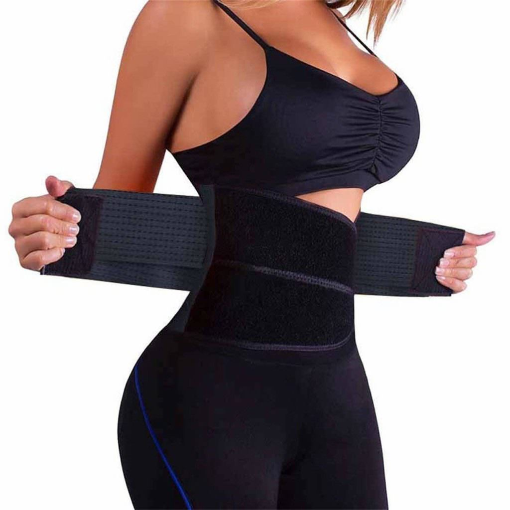 Waist Trainer Belt for Women & Man - Waist Cincher Trimmer Weight Loss Ab Belt - Slimming Body Shaper Belt