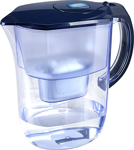 EHM Ultra Premium Alkaline water Pitcher- 3.8L, Activated Carbon Filter- Healthy, Clean, & Toxin-Free Mineralized Alkaline Water in Minutes- Up to 9.5 pH-2020 Model