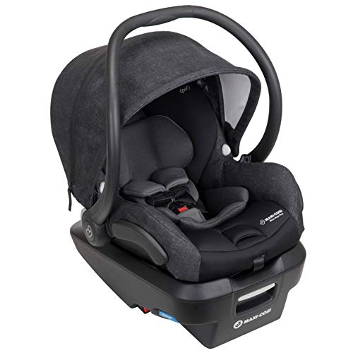 Maxi-Cosi Mico Max Plus Infant Car Seat with Base, Nomad Black, One Size