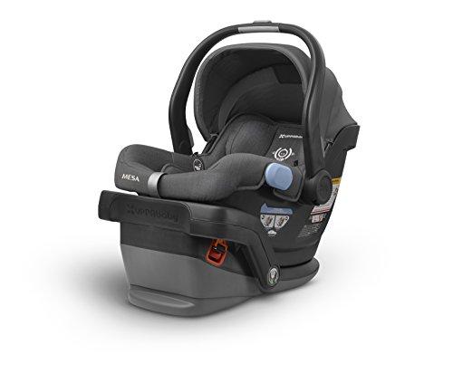 UPPAbaby MESA Infant Car Seat -Jordan (Charcoal Melange)Merino Wool Version/Naturally Fire Retardant